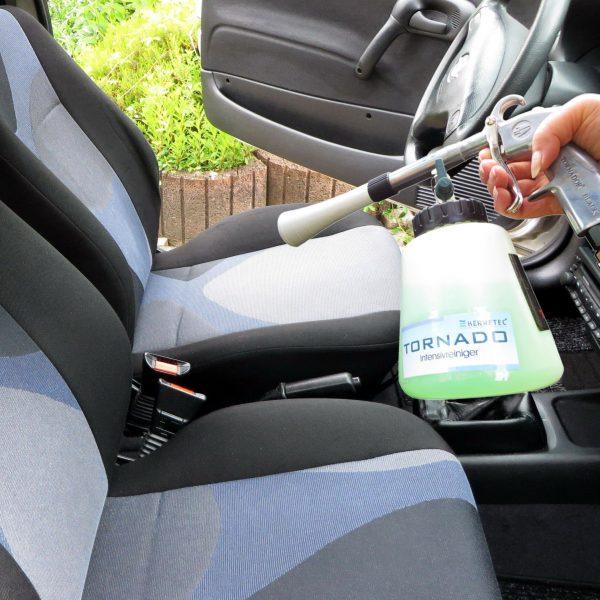 Fahrzeuginnenreinigung Vorher