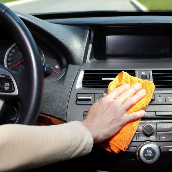 Fahrzeuginnenreinigung Nachher