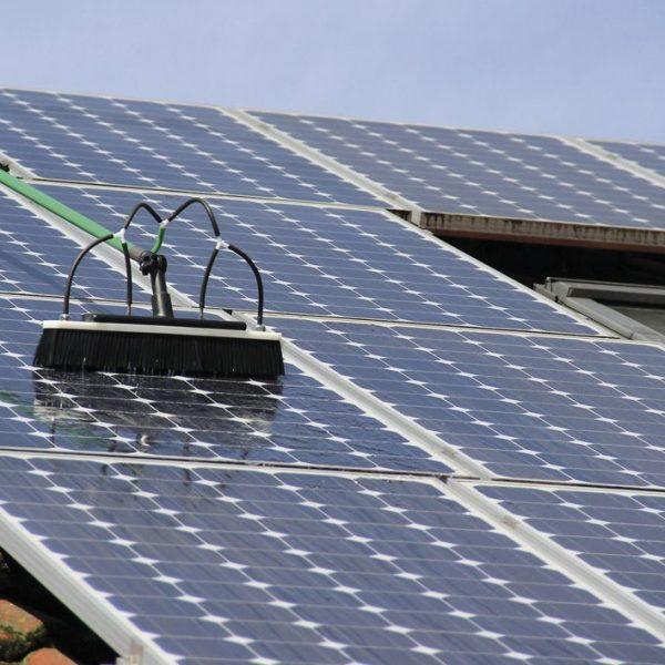 Photovoltaik- und Solaranlagenreinigung Nachher