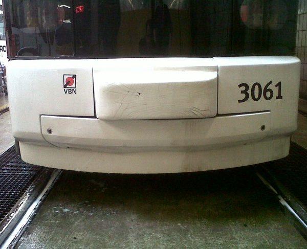 Reinigung von Bussen und Bahnen Nachher