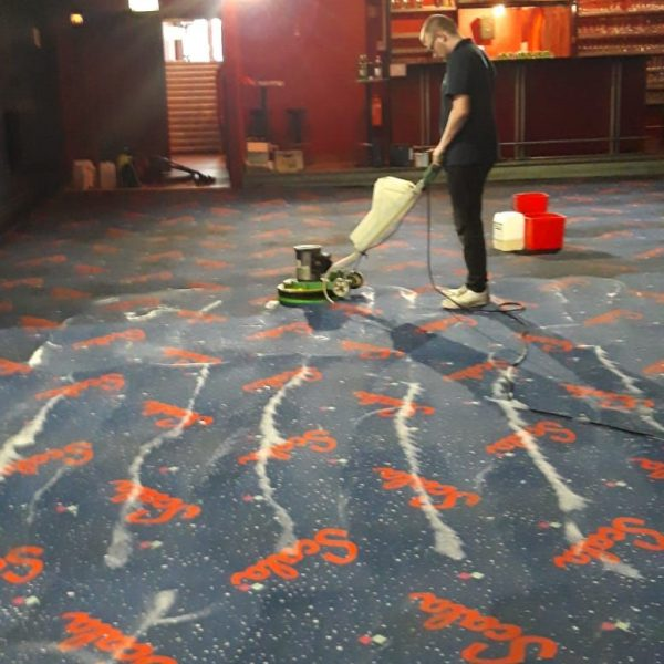 Teppich und Polsterreinigung Nachher