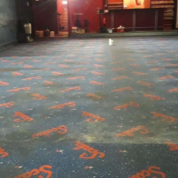 Teppich und Polsterreinigung Vorher