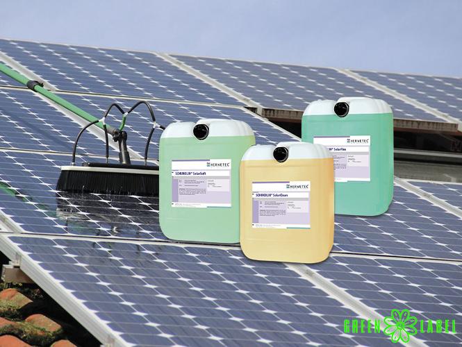 Herwetec® PV- und Solarmodulreiniger Bild